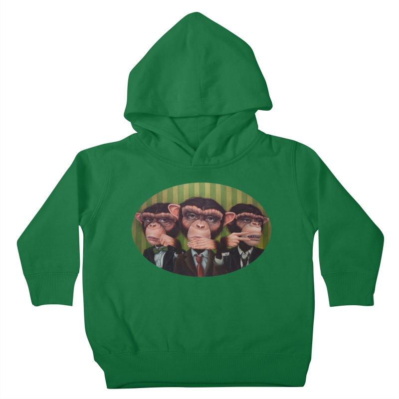 Ro Sham Bo Kids Toddler Pullover Hoody by kenkeirns's Artist Shop