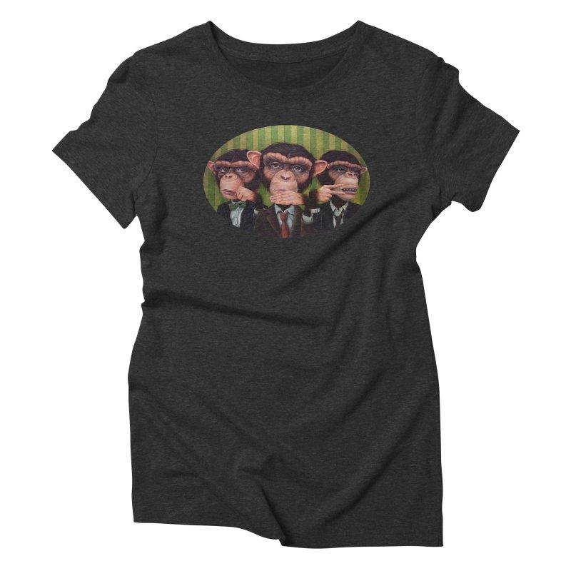 Ro Sham Bo Women's Triblend T-shirt by kenkeirns's Artist Shop