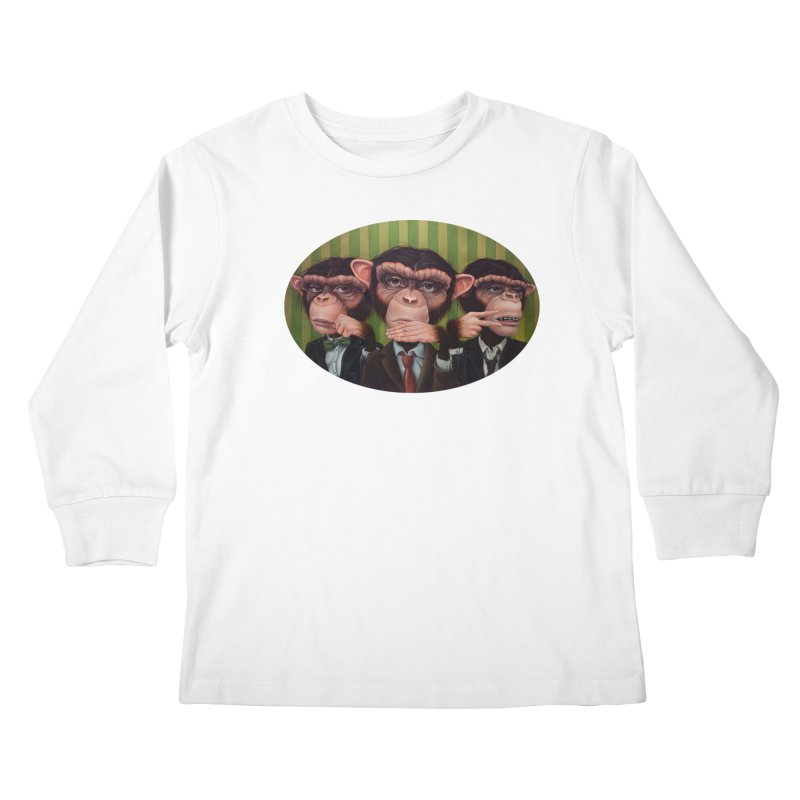 Ro Sham Bo Kids Longsleeve T-Shirt by kenkeirns's Artist Shop