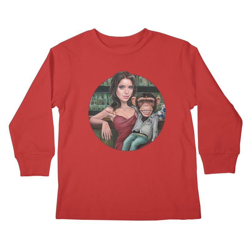 Last Call Kids Longsleeve T-Shirt by kenkeirns's Artist Shop