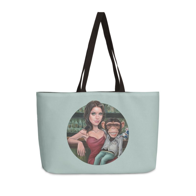 Last Call Accessories Bag by Ken Keirns
