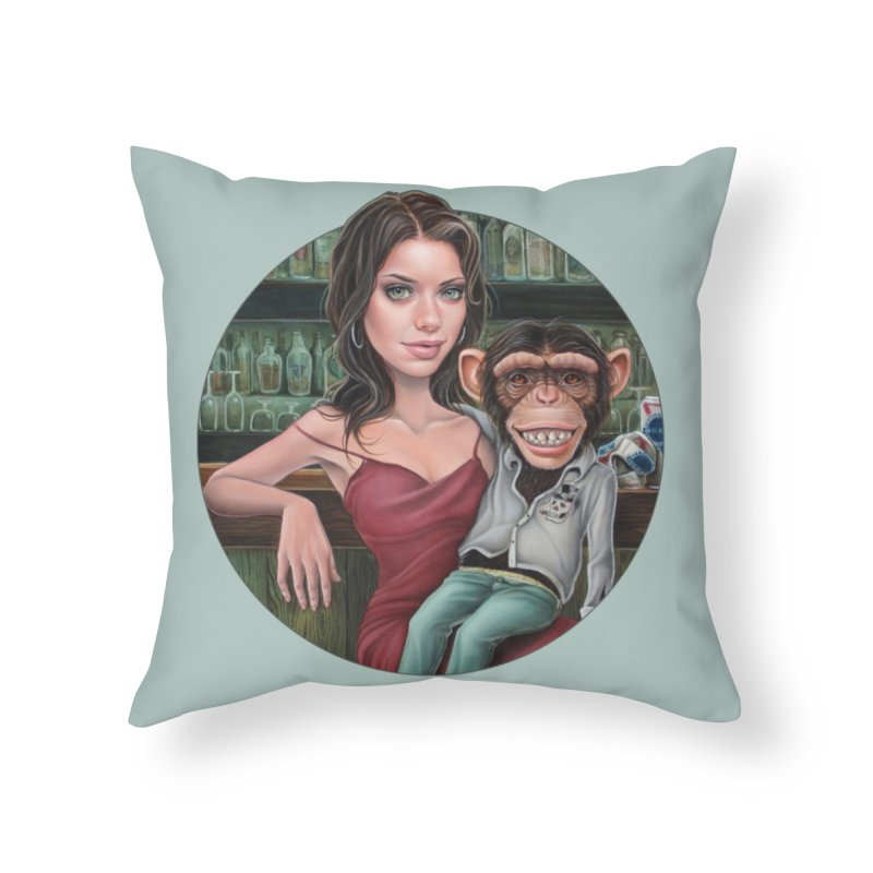 Last Call Home Throw Pillow by Ken Keirns