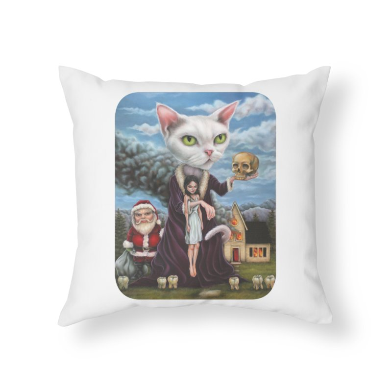 The Sleeper Home Throw Pillow by Ken Keirns