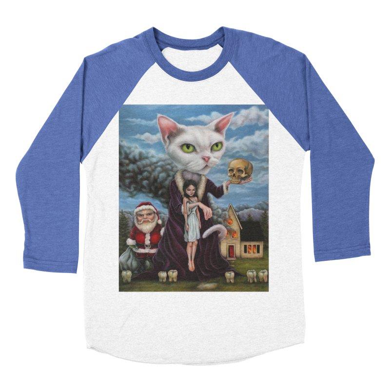 The Sleeper Women's Baseball Triblend T-Shirt by kenkeirns's Artist Shop