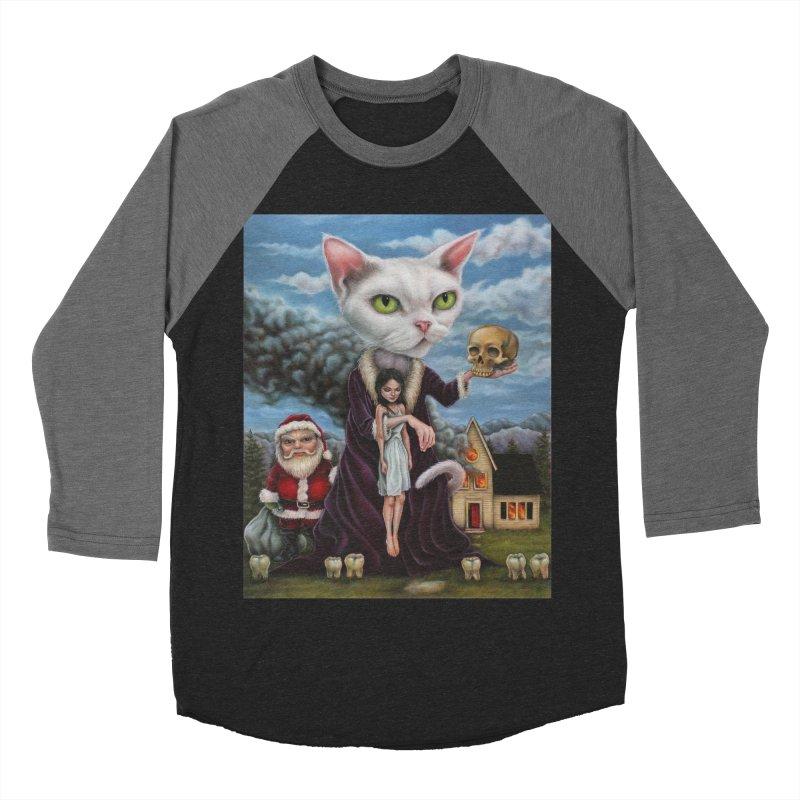 The Sleeper Men's Baseball Triblend T-Shirt by kenkeirns's Artist Shop