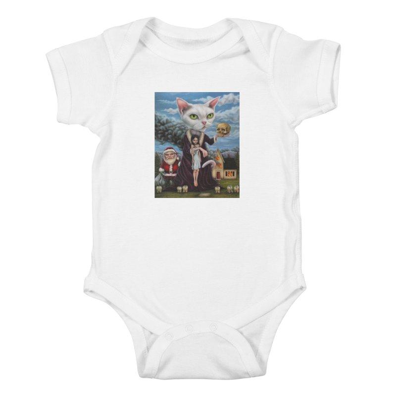 The Sleeper Kids Baby Bodysuit by kenkeirns's Artist Shop