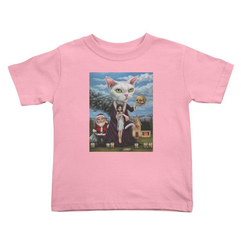 The Sleeper Kids Toddler T-Shirt by kenkeirns's Artist Shop