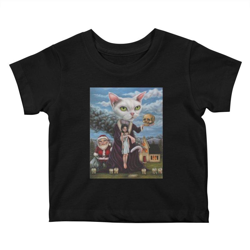 The Sleeper Kids Baby T-Shirt by kenkeirns's Artist Shop