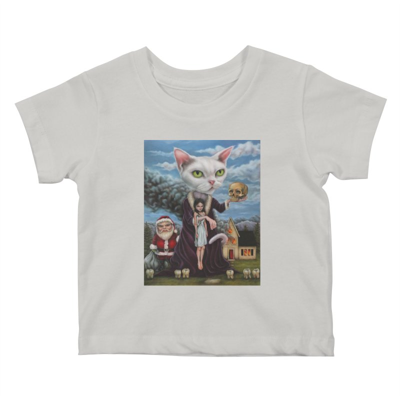 The Sleeper Kids Baby T-Shirt by kenkeirns's Artist Shop