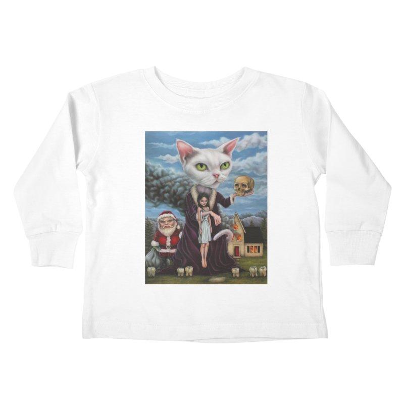 The Sleeper Kids Toddler Longsleeve T-Shirt by kenkeirns's Artist Shop