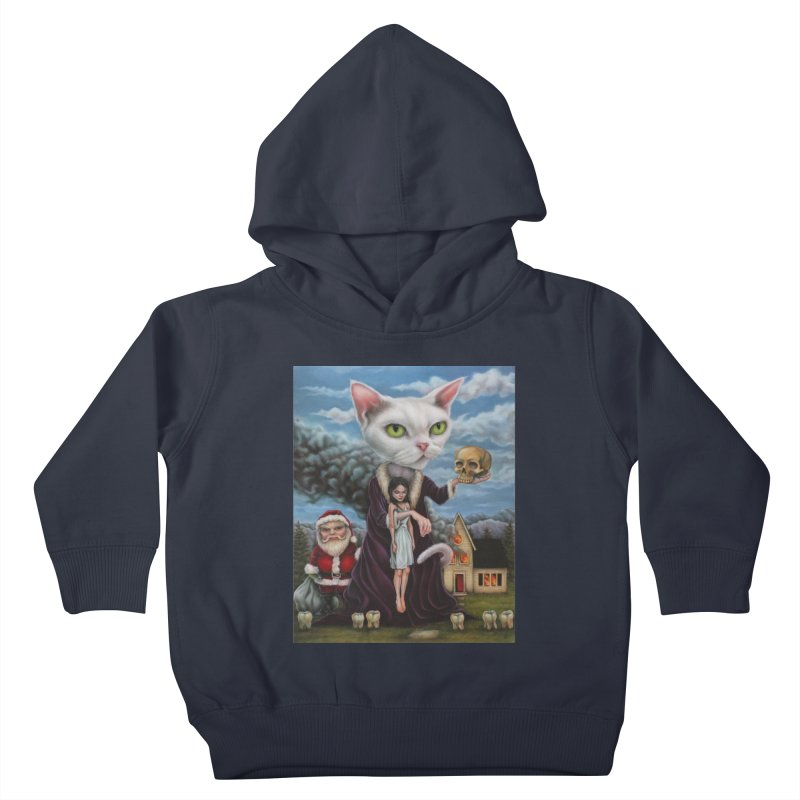 The Sleeper Kids Toddler Pullover Hoody by kenkeirns's Artist Shop