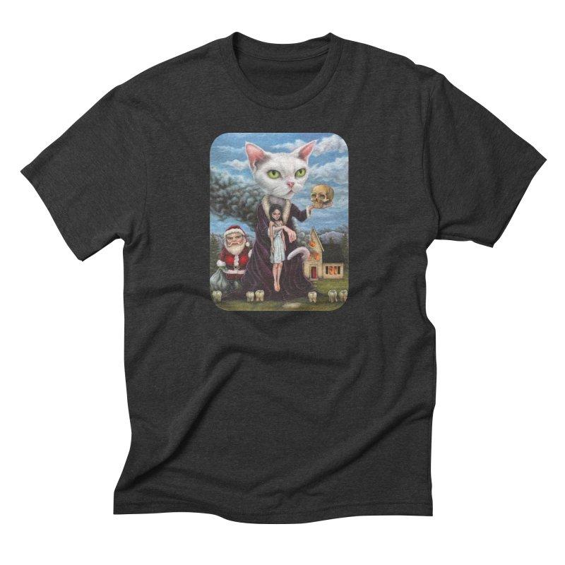 The Sleeper Men's Triblend T-Shirt by Ken Keirns