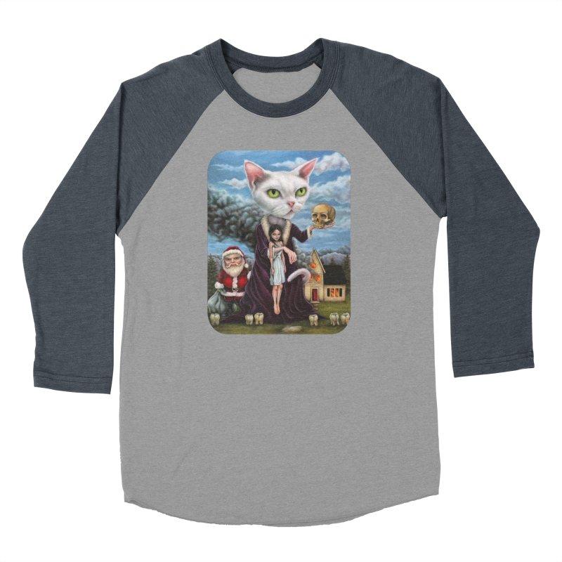 The Sleeper Women's Baseball Triblend Longsleeve T-Shirt by Ken Keirns