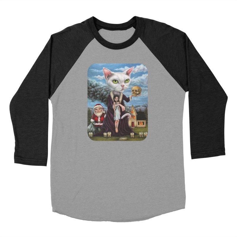 The Sleeper Men's Baseball Triblend Longsleeve T-Shirt by Ken Keirns