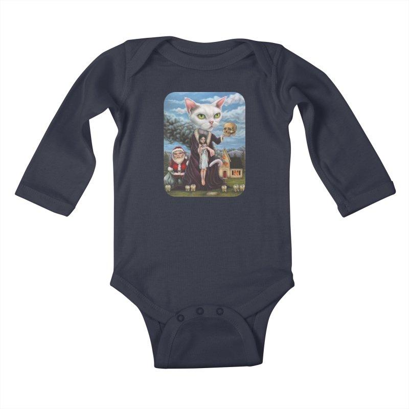 The Sleeper Kids Baby Longsleeve Bodysuit by Ken Keirns