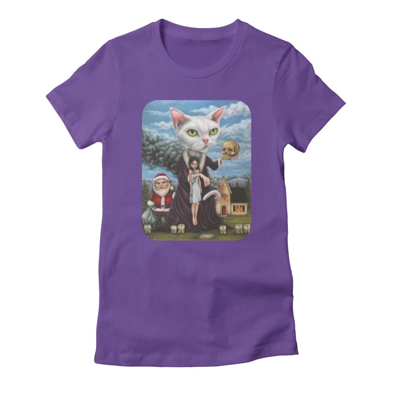 The Sleeper Women's Fitted T-Shirt by Ken Keirns