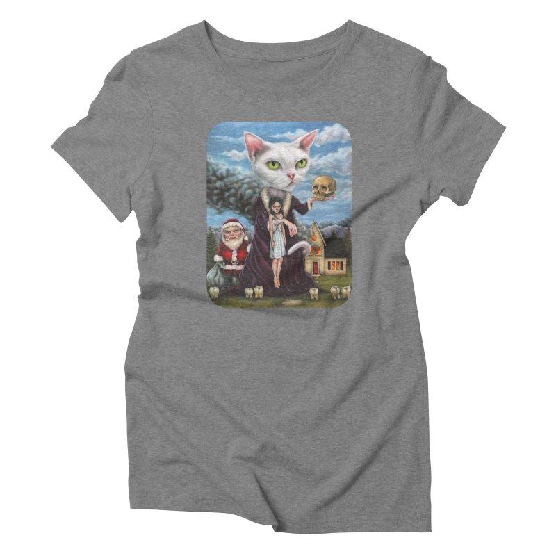 The Sleeper Women's Triblend T-Shirt by Ken Keirns
