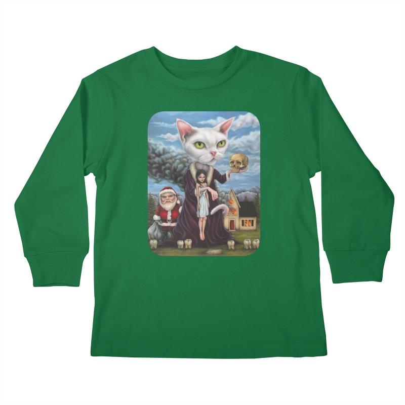 The Sleeper Kids Longsleeve T-Shirt by Ken Keirns