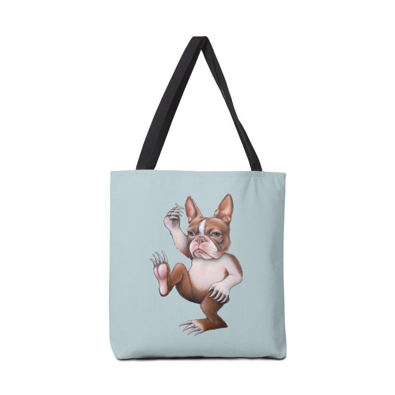Grumpy Rumpus (cut out) Accessories Tote Bag Bag by Ken Keirns