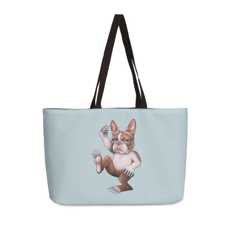 Grumpy Rumpus (cut out) Accessories Weekender Bag Bag by Ken Keirns