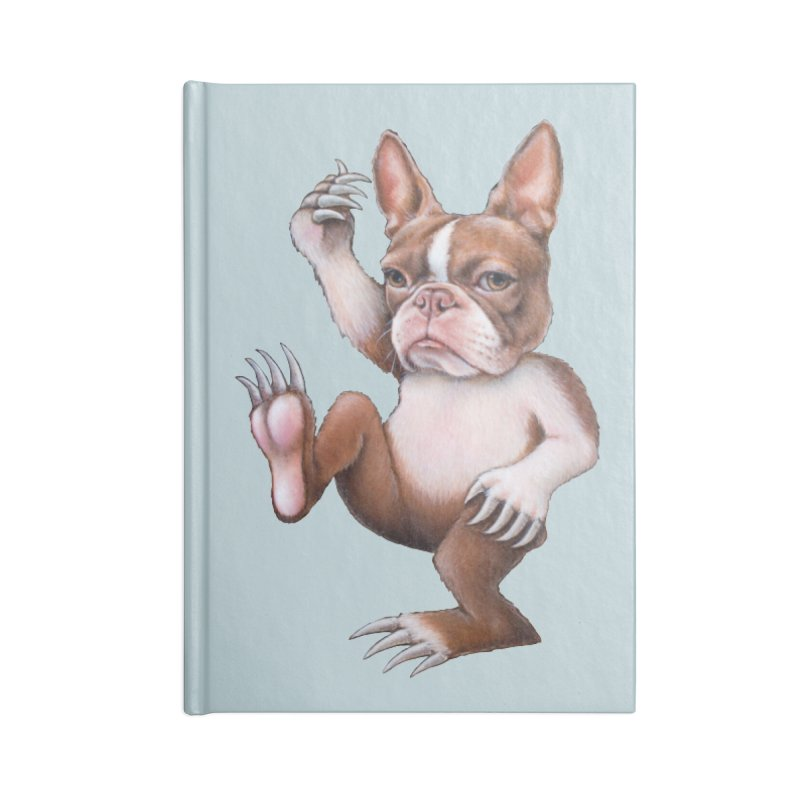 Grumpy Rumpus (cut out) Accessories Lined Journal Notebook by Ken Keirns