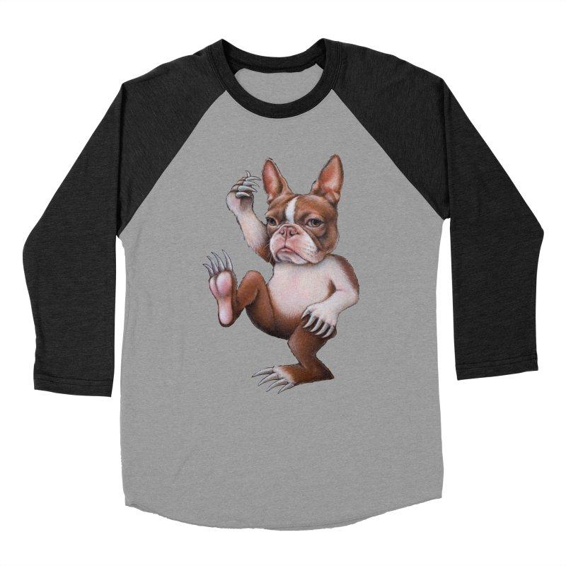 Grumpy Rumpus (cut out) Women's Baseball Triblend T-Shirt by kenkeirns's Artist Shop
