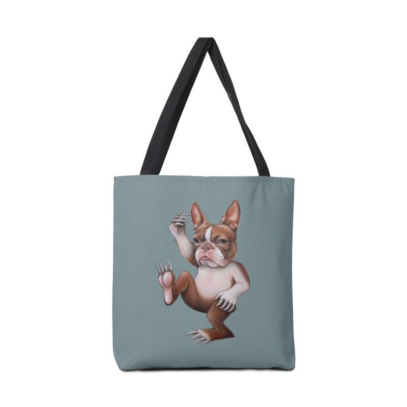 Grumpy Rumpus (cut out) Accessories Bag by kenkeirns's Artist Shop