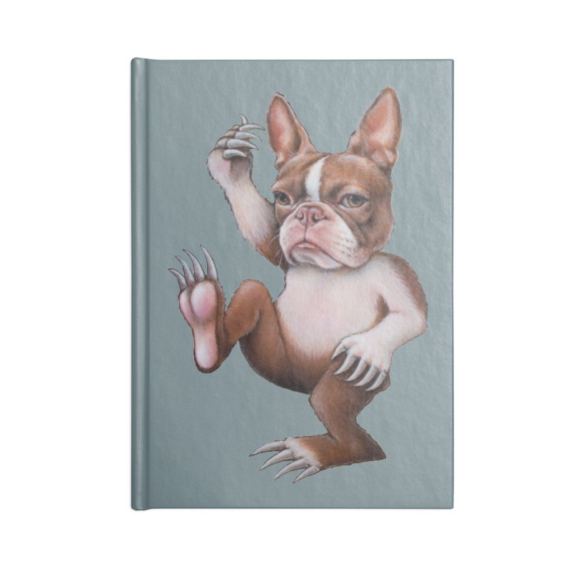 Grumpy Rumpus (cut out) Accessories Notebook by kenkeirns's Artist Shop