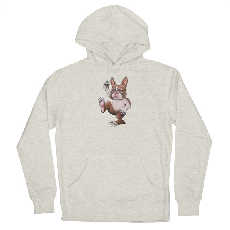 Grumpy Rumpus (cut out) Men's Pullover Hoody by Ken Keirns