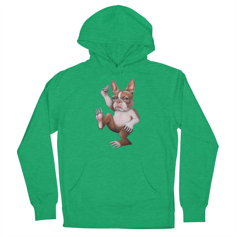 Grumpy Rumpus (cut out) Men's French Terry Pullover Hoody by Ken Keirns