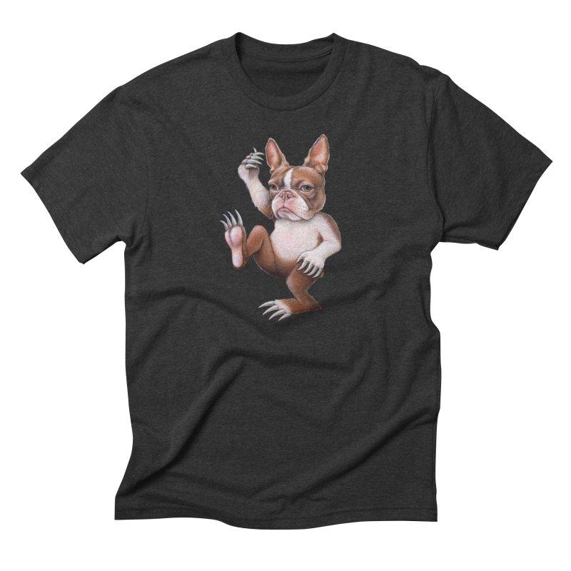 Grumpy Rumpus (cut out) Men's Triblend T-Shirt by Ken Keirns