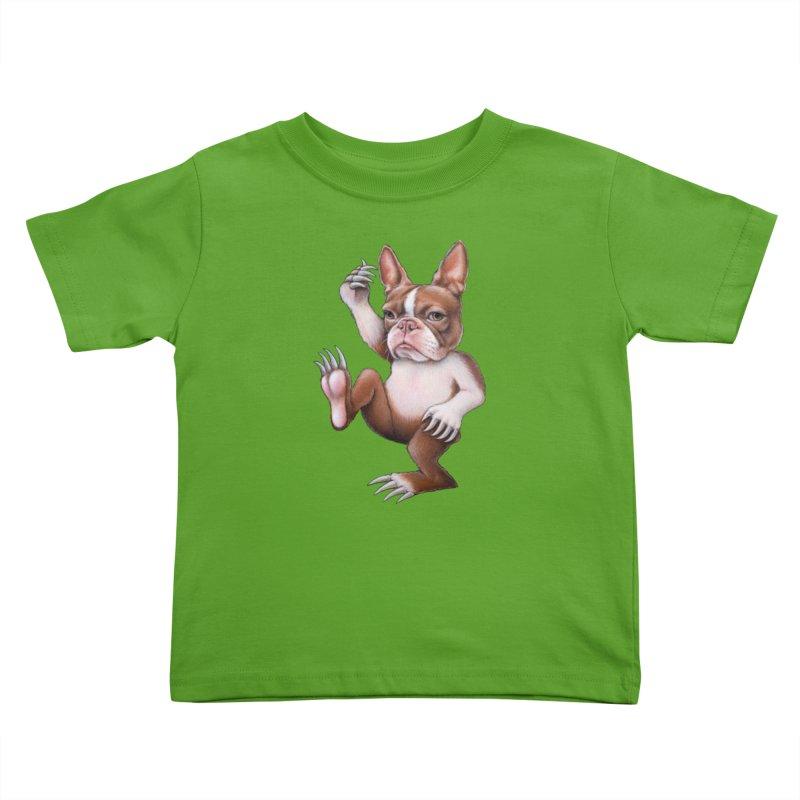 Grumpy Rumpus (cut out) Kids Toddler T-Shirt by Ken Keirns
