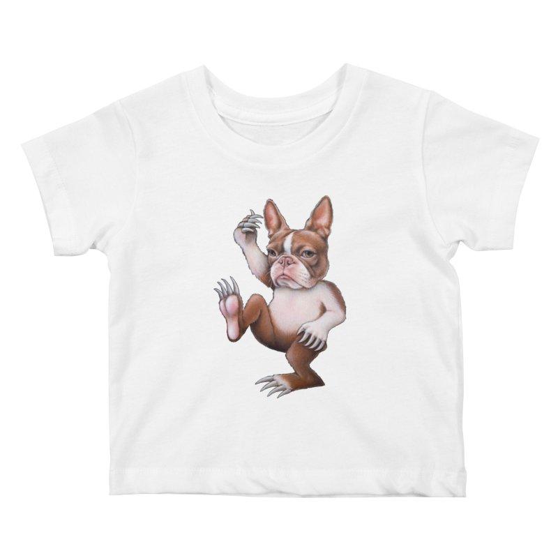 Grumpy Rumpus (cut out) Kids Baby T-Shirt by Ken Keirns