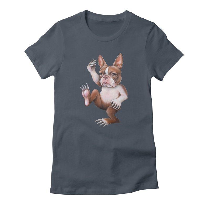Grumpy Rumpus (cut out) Women's T-Shirt by Ken Keirns