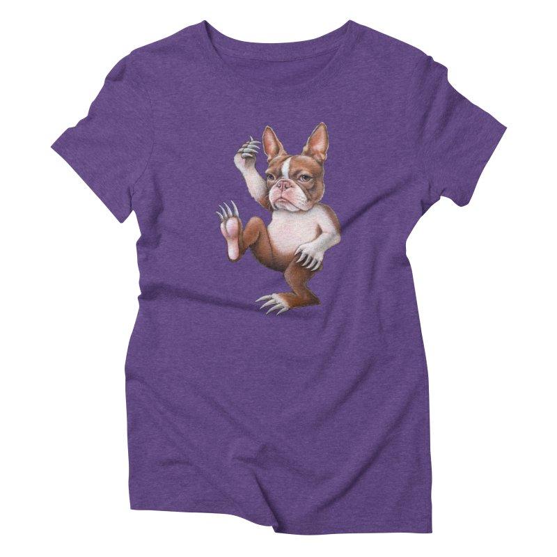 Grumpy Rumpus (cut out) Women's Triblend T-Shirt by Ken Keirns