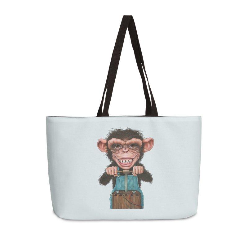 Boom Box (cut out) Accessories Weekender Bag Bag by Ken Keirns