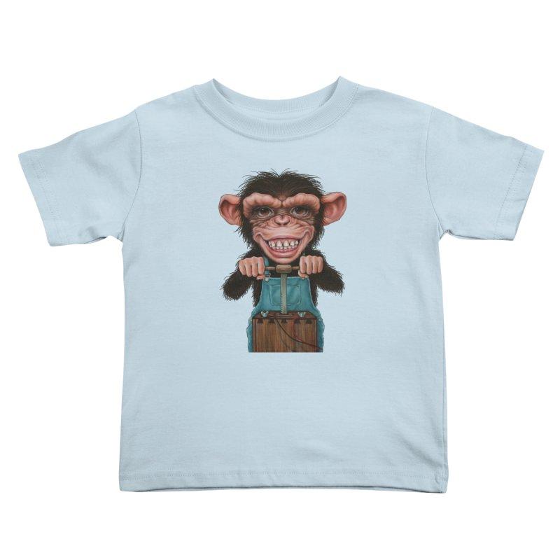 Boom Box (cut out) Kids Toddler T-Shirt by kenkeirns's Artist Shop
