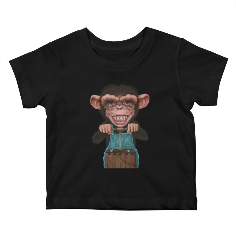Boom Box (cut out) Kids Baby T-Shirt by kenkeirns's Artist Shop