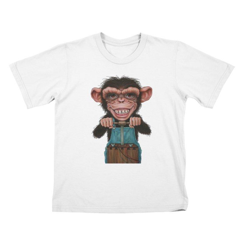 Boom Box (cut out) Kids T-shirt by kenkeirns's Artist Shop