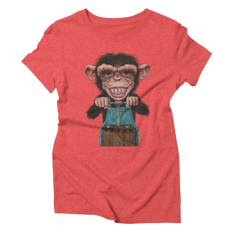 Boom Box (cut out) Women's Triblend T-shirt by kenkeirns's Artist Shop