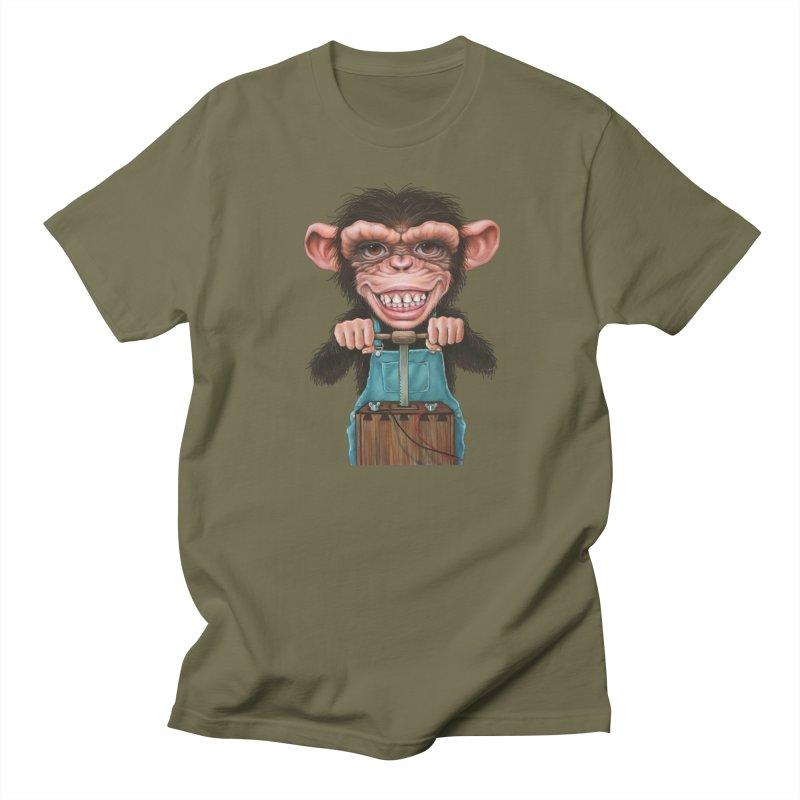 Boom Box (cut out) Men's Regular T-Shirt by Ken Keirns