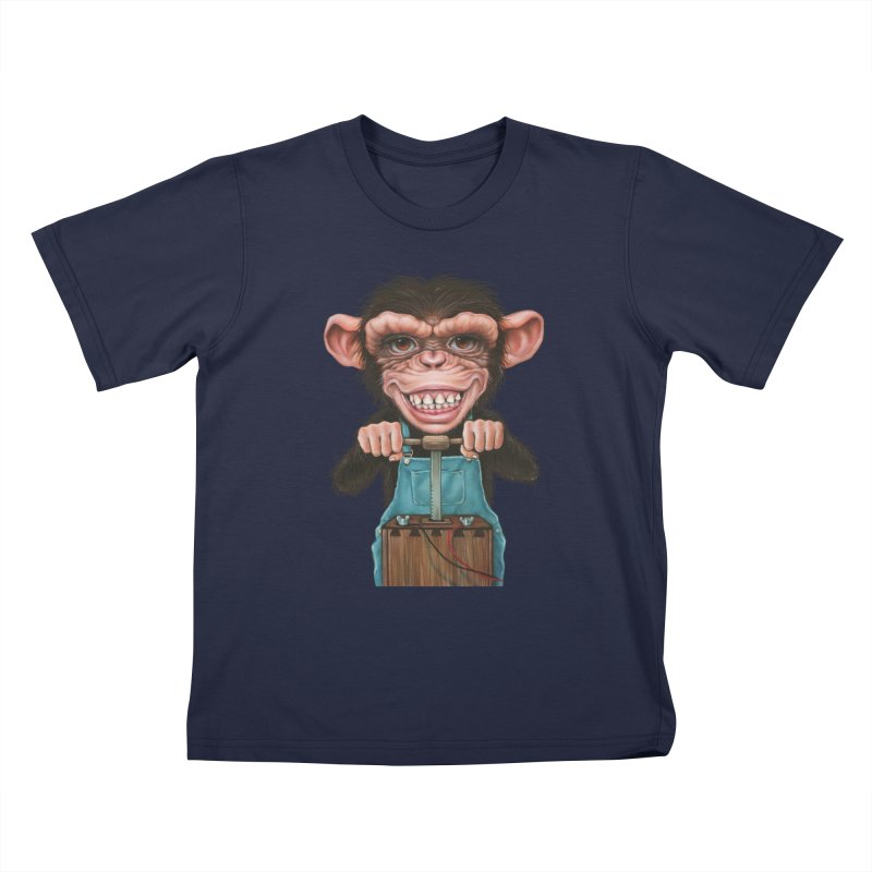 Boom Box (cut out) Kids T-Shirt by Ken Keirns