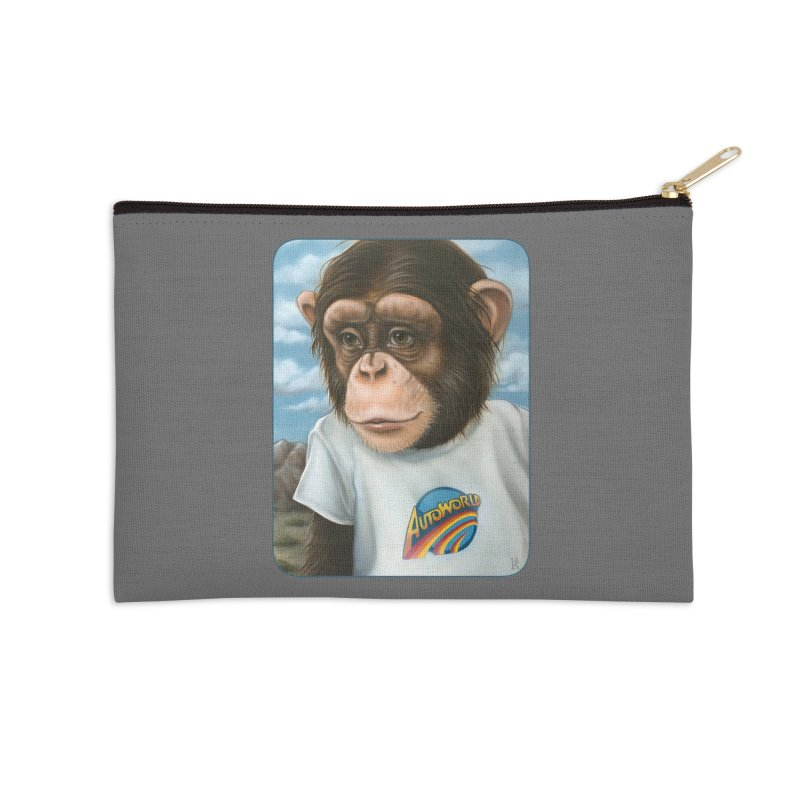 Auto Chimp Accessories Zip Pouch by Ken Keirns