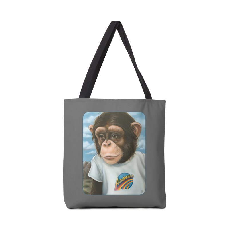 Auto Chimp Accessories Tote Bag Bag by Ken Keirns