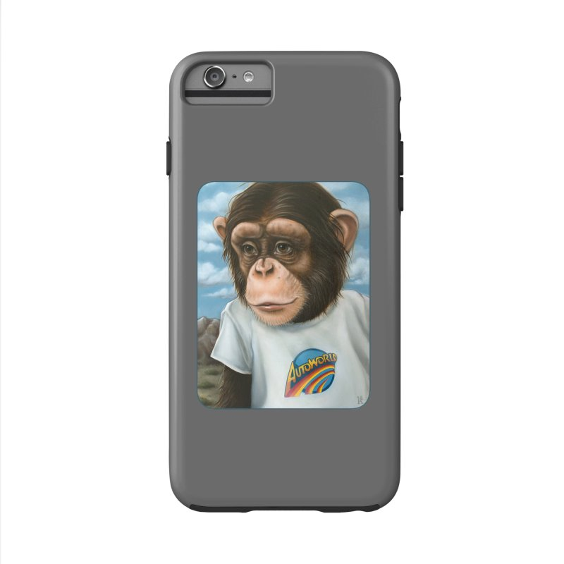 Auto Chimp Accessories Phone Case by Ken Keirns