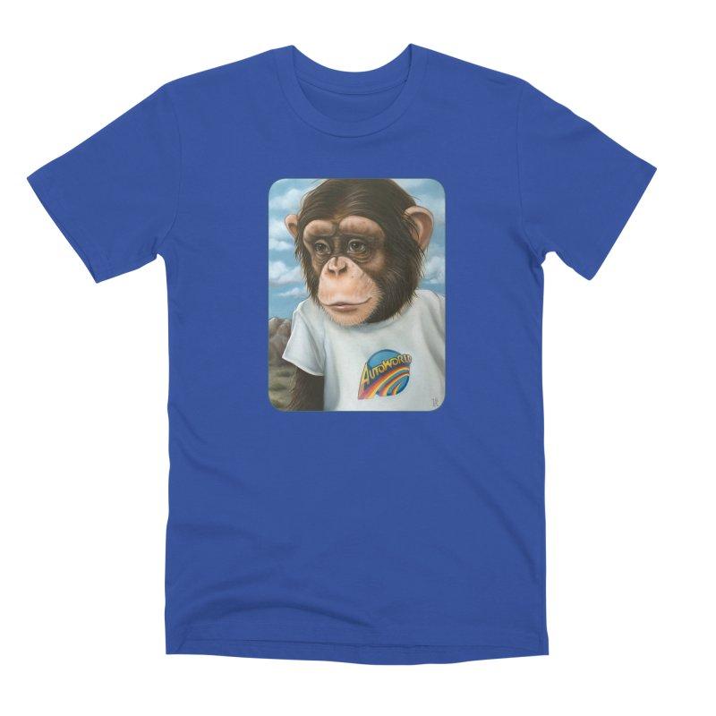 Auto Chimp Men's Premium T-Shirt by Ken Keirns