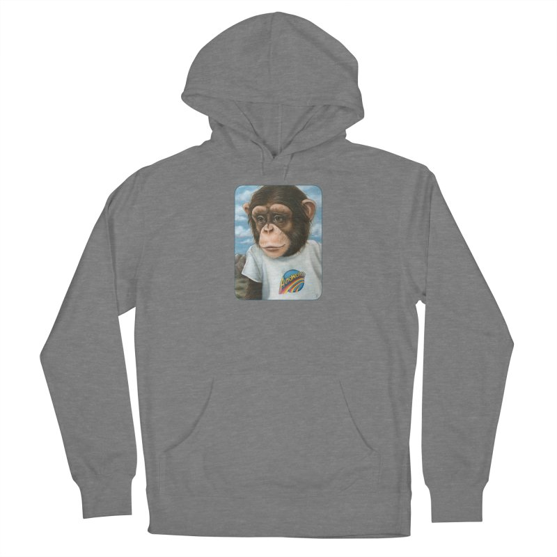Auto Chimp Women's Pullover Hoody by Ken Keirns