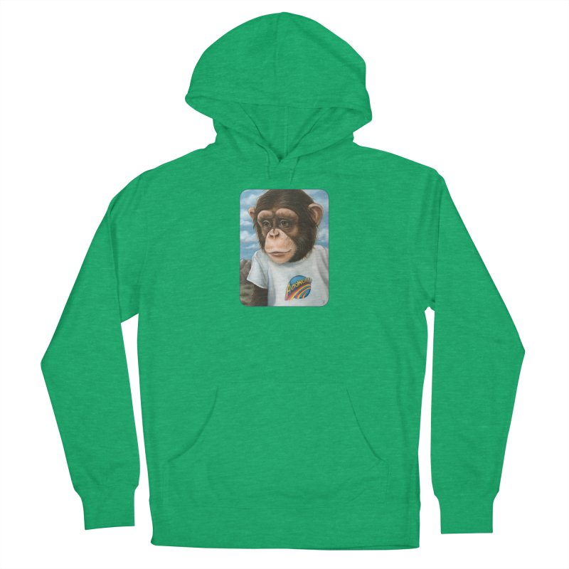 Auto Chimp Men's Pullover Hoody by Ken Keirns