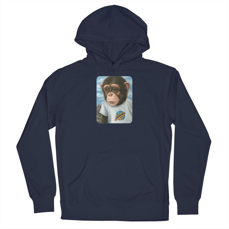 Auto Chimp Men's Pullover Hoody by Ken Keirns