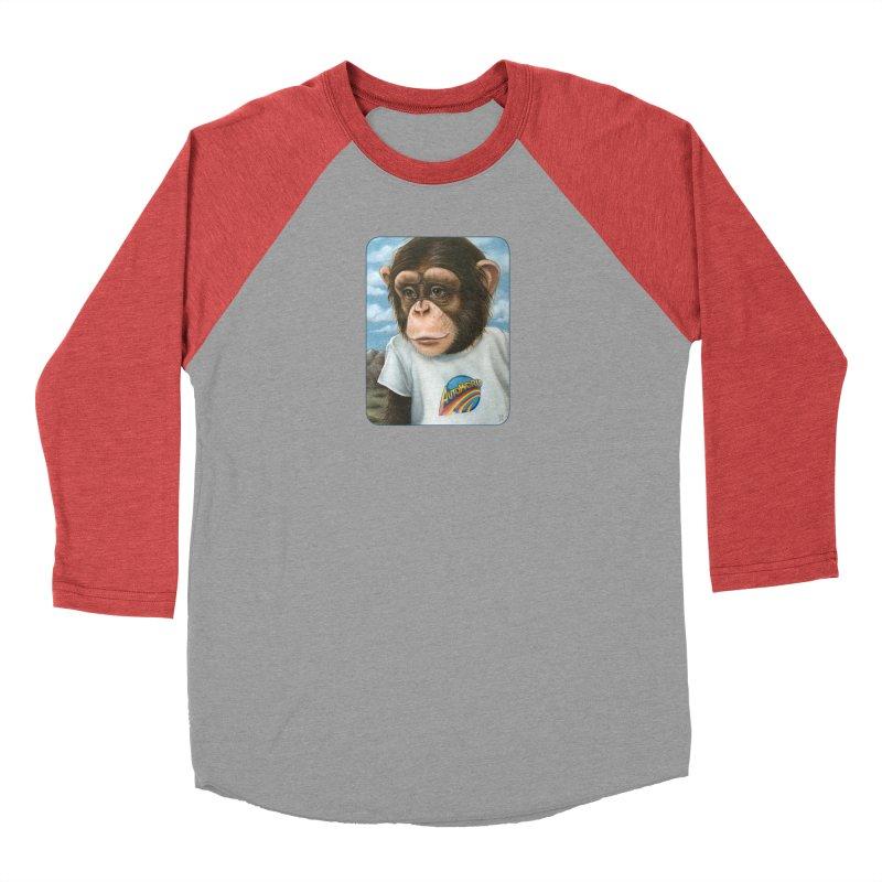 Auto Chimp Men's Longsleeve T-Shirt by Ken Keirns